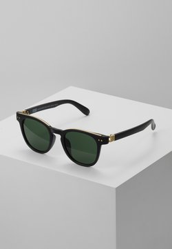 Urban Classics - SUNGLASSES ITALY WITH CHAIN - Aurinkolasit - black/gold-coloured