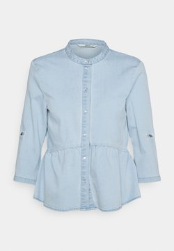 ONLY Petite - ONLCHICAGO LIFE TIGHT - Camicia - light blue denim