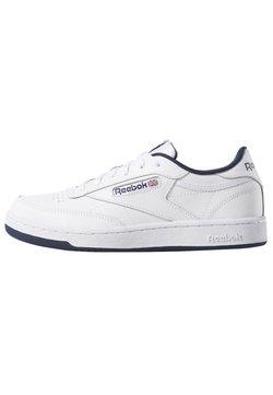 Reebok Classic - CLUB C TENNIS - Matalavartiset tennarit - white