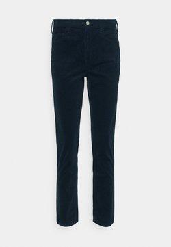 Club Monaco - THE HIGH RISE  - Pantalones - navy blue