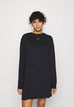 Nike Sportswear - DRESS - Trikoomekko - black/white