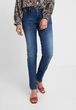 Mavi - LINDY - Slim fit jeans - deep ocean glam