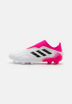 adidas Performance - COPA SENSE.3 LL FG - Chaussures de foot à crampons - footwear white/core black/shock pink