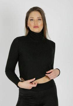 MiaZAYA - Strickpullover - black