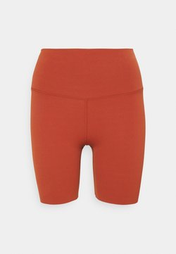 Nike Performance - YOGA LUXE SHORT - Tights - rugged orange/light sienna