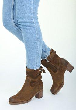 Shabbies Amsterdam - REISSVERSCHLUSS - Ankle Boot - brown