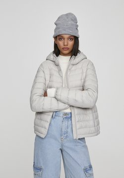 PULL&BEAR - Winterjas - mottled light grey