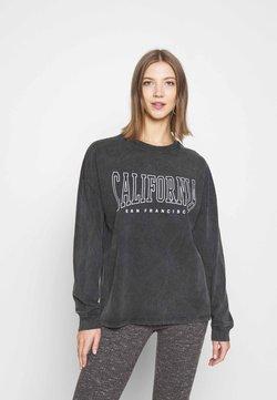 Topshop - CALI SKATER TEE - Langarmshirt - grey