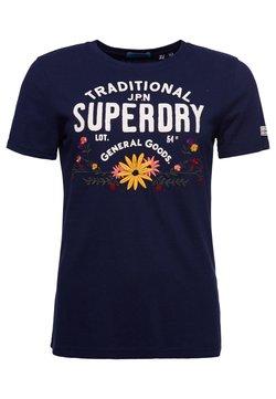 Superdry - T-Shirt print - atlantic navy