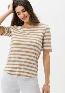 BRAX - STYLE COLETTE - T-Shirt print - sand