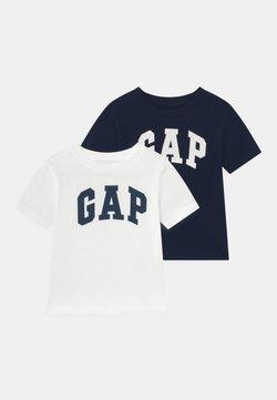GAP - TODDLER BOY 2 PACK - T-shirt imprimé - blue galaxy