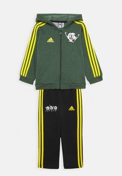 adidas Performance - Verryttelypuku - green oxide/yellow/black