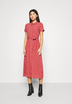 King Louie - ROSIE MIDI DRESS WARRIOR - Shirt dress - apple pink