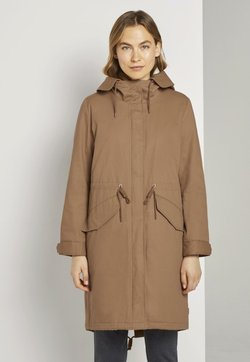 TOM TAILOR - AUTHENTIC WINTER - Parka - light chestnut