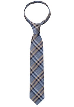 Eterna - Krawatte - blau/beige