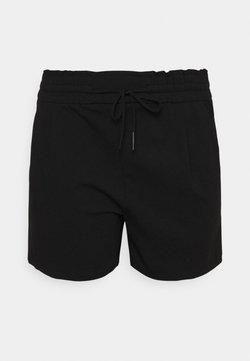 Vero Moda Curve - VMEVA RUFFLE - Shorts - black