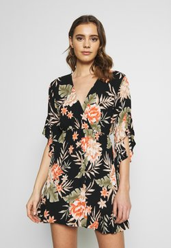 Billabong - LOVE LIGHT - Kjole - black floral