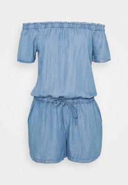 edc by Esprit - SHORT - Combinaison - blue light wash