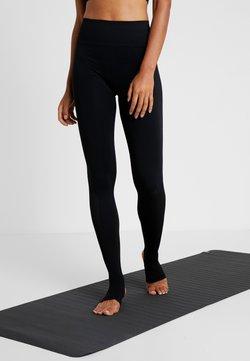 Filippa K - SEAMLESS OPEN HEEL LEGGINS - Tights - black