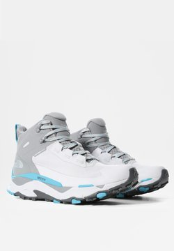 The North Face - W VECTIV EXPLORIS MID FUTURELIGHT - Hikingschuh - micro chip grey/maui blue
