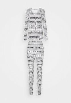 Cotton On Body - HENLEY LONG JOHN - Pigiama - navy