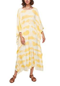 s.Oliver - Maxikleid - yellow tie dye