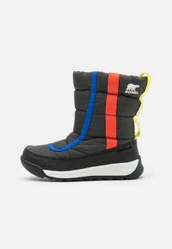 Sorel - YOUTH WHITNEY II PUFFY UNISEX - Vinterstøvler - coal