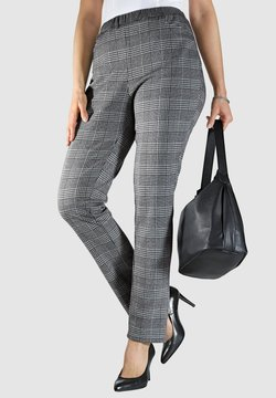 M. COLLECTION - Stoffhose - grey