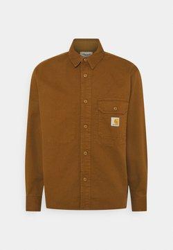 Carhartt WIP - RENO SHIRT - Camisa - dark brown