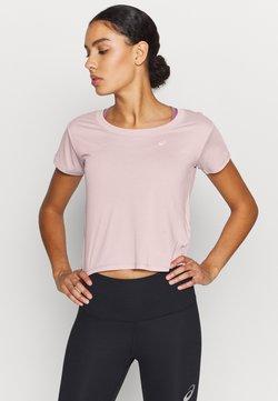 ASICS - RACE CROP - Camiseta básica - ginger peach