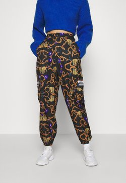 adidas Originals - GRAPHICS SPORTS INSPIRED LOOSE PANTS - Spodnie materiałowe - multicolor