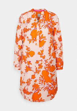Emily van den Bergh - Freizeitkleid - orange/rose