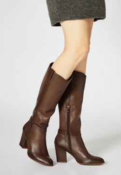 usha - High Heel Stiefel - brown