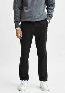 Selected Homme - Chinos - black