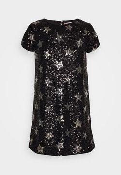 J.CREW - GINNY DRESS PRINTED - Cocktailkleid/festliches Kleid - silver/black