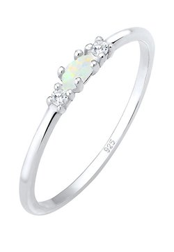 Elli - GEO VINTAGE MARQUISE  - Ring - silver