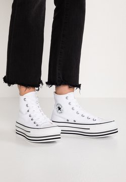 Converse - CHUCK TAYLOR ALL STAR PLATFORM - Baskets montantes - white