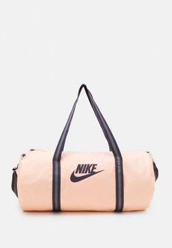 Nike Sportswear - HERITAGE UNISEX - Sports bag - crimson tint/dark raisin