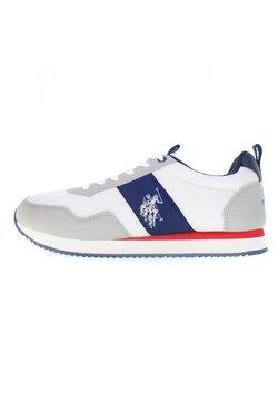 U.S. Polo Assn. - EXTE - Sneaker low - off white-blue