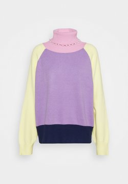 Olivia Rubin - CLEMMIE TURTLE NECK - Strickpullover - multi-coloured