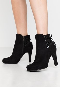 Tamaris - Bottines à talons hauts - black