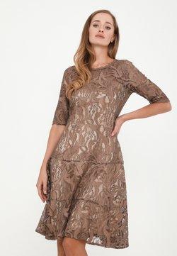 Madam-T - SAPALERI - Cocktailkleid/festliches Kleid - marron