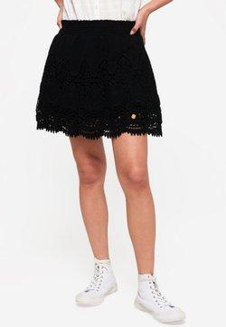 Superdry - AMANDA - Spódnica trapezowa - black