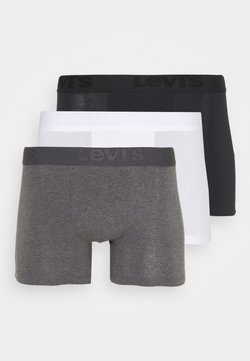 Levi's® - MEN PREMIUM BRIEF 3 PACK - Shorty - black/grey combo