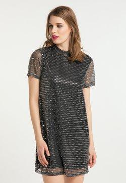 faina - Cocktailkleid/festliches Kleid - schwarz silber