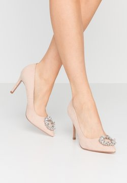 Dorothy Perkins - GLADLY POINTED TRIM COURT - High Heel Pumps - nude