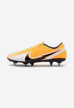 Nike Performance - VAPOR 13 ACADEMY SG-PRO AC - Screw-in stud football boots - laser orange/black/white