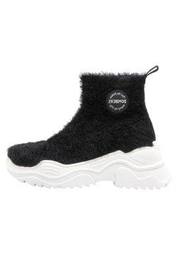 DOMBERS - Snowboots  - black/dark grey