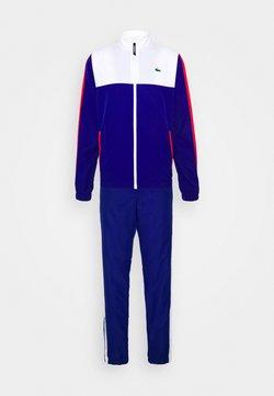 Lacoste Sport - TENNIS TRACKSUIT - Survêtement - white/cosmic red