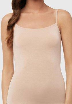 Intimissimi - TOP AUS MODAL MIT RUNDEM AUSSCHNITT - Unterhemd/-shirt - skin